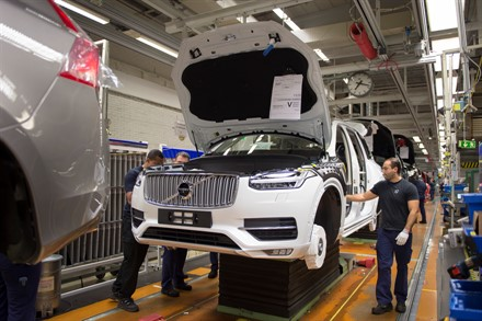 Volvo Cars selects South Carolina for its first American factory