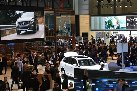 LA FUTURE ORIENTATION DE VOLVO CARS PRESENTEE CLAIREMENT AU SALON INTERNATIONAL DE L'AUTOMOBILE DE GENÈVE 2015