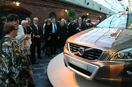 Volvo celebrates eighty years in Finland