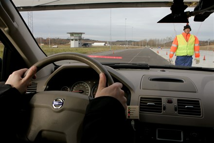 Volvo Cars on the move towards a future without traffic accidents.