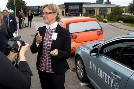 Volvo Cars and the Swedish National Road Administration in joint offensive against traffic accidents