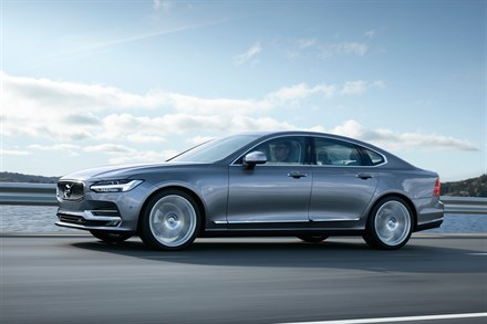 VOLVO CAR UK ANNOUNCES PRICING AND SPECIFICATION DETAILS OF NEW S90 AND V90