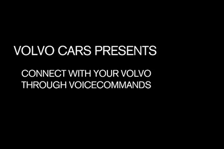 Volvo Cars Voice-Control A-Roll