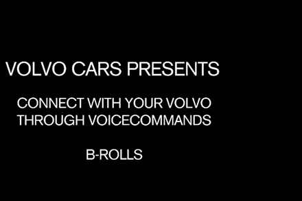 Volvo Cars Voice-Control Key Scenes B-Roll
