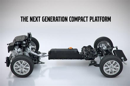 Volvo Cars introduces its Compact Modular Architecture (CMA)