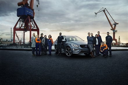 Volvo Cars honours diverse workforce in new XC60 campaign