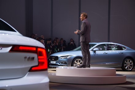 Volvo Cars' Press Conference at the 2016 North American International Auto Show