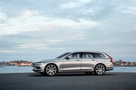 Volvo V90 Reveal Video