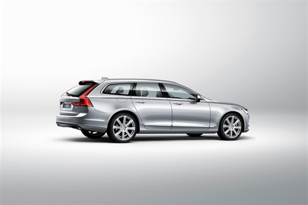 Volvo Cars Unveils All-New V90