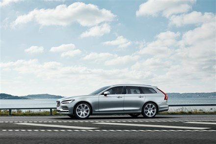 Volvo V90 running footage B-Roll