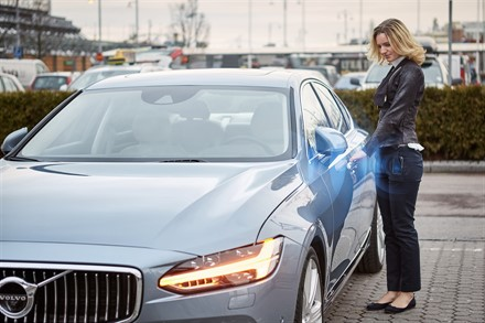 Volvo Cars - the first carmaker to launch a car without a key