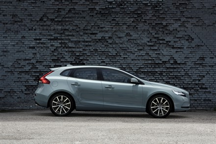Volvo Cars gives the new face of Volvo to the V40
