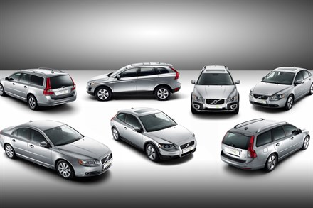 Volvo presents seven new cars with the green DRIVe badge - all with best-in-class CO2 levels