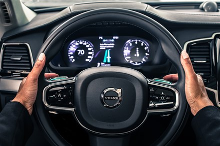 Introducing Volvo Car seamless interface for self-driving cars