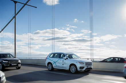 Drive Me: Volvo Cars' approach to autonomous driving