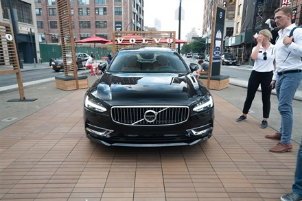 Volvo Opens New York City Pop Up Store