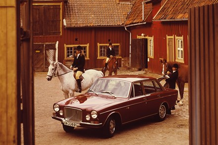 Volvo's biggest car news from 1968 turns 40 - the Volvo 164