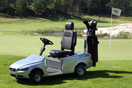 The Volvo for golfers everywhere