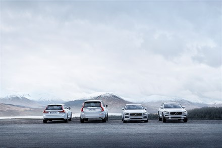 Volvo Cars' 2016 sales hit new record