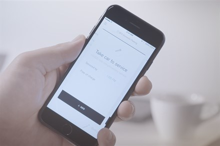Volvo concierge service - car to service