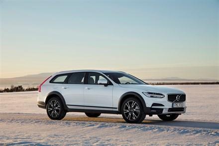 Models New V90 Cross Country Bilder Volvo Car