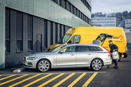 Volvo In-car Delivery, a Volvo Cars innovation
