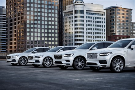 Volvo Cars zet vol in op elektrificatie
