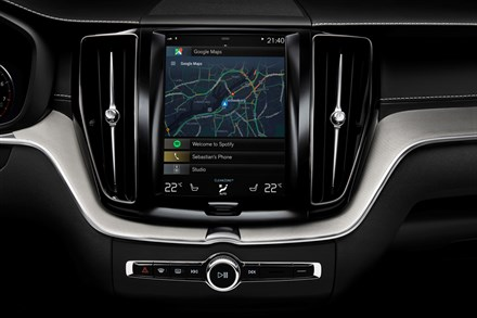 Volvo with Android OS and Google services