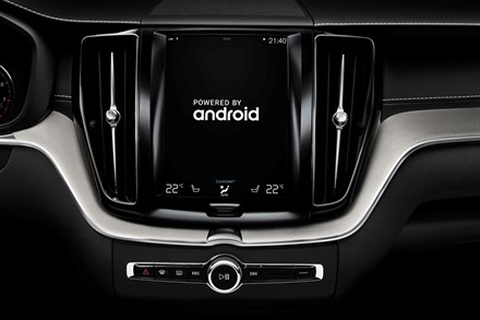 Volvo Cars partners with Google to build Android into next generation connected cars