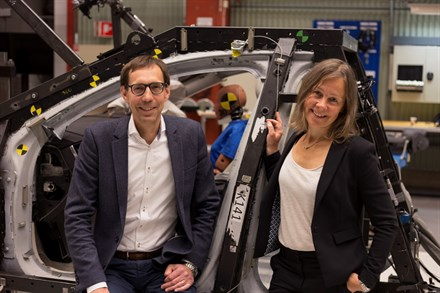 Volvo Cars safety experts receive prestigious award from US National Highway Traffic Safety Administration