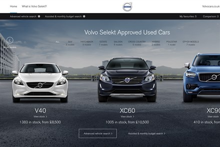 Volvo Selekt crowned Best Used Car Website in What Car? Used Car Awards