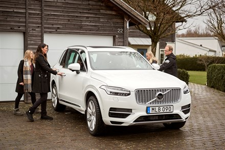 Swedish families help Volvo Cars develop autonomous drive cars - B-roll, Mixed footage
