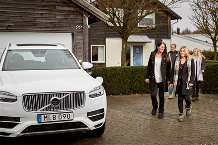 Swedish families help Volvo Cars develop autonomous drive cars