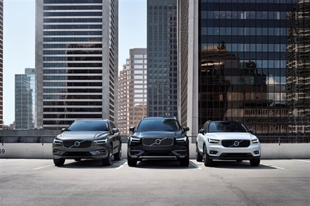 Volvo Cars' global sales up by 13.3 per cent in May
