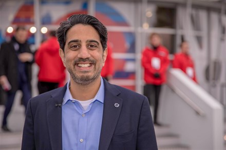 Заки Фасихуддин, генеральный директор Volvo Cars Tech Fund