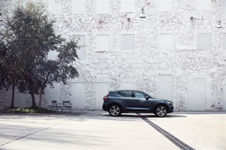 Volvo XC40 Inscription Makes North American Debut at the New York International Auto Show