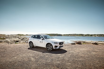 Volvo Cars recycled plastics ambition 2025