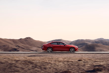 New Volvo S60 Driving Dynamics