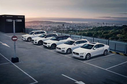 Volvo Cars Plug-In Hybrid line-up