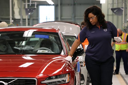 Volvo's First American Car Factory Begins Mass Production