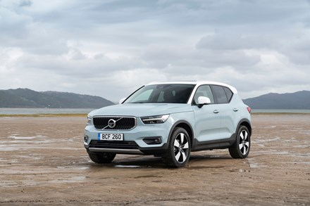 Strong growth in hybrid model sales helps Volvo outperform the UK's new car market in January