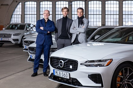 Volvo Cars' award-winning line-up proves three design heads are better than one