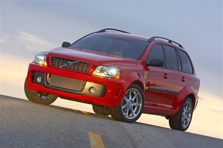 Volvo XC90 V8 Power Utility Vehicle Debuts at 2004 Specialty Equipment Manufacturers Association Tradeshow in Las Vegas, Nevada