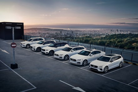 Volvo Cars sets new global sales record in 2018; breaks 600,000 sales milestone