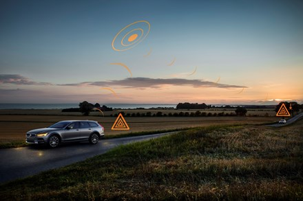 Volvo Cars joins groundbreaking, pan-European safety data sharing pilot project