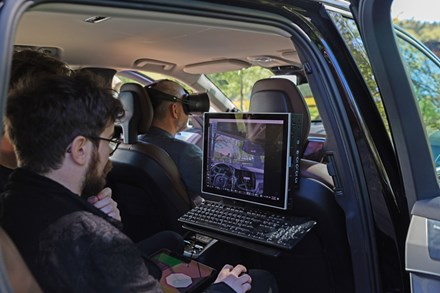Volvo Cars and Varjo launch world-first mixed reality application for car development (without subtitle and music)