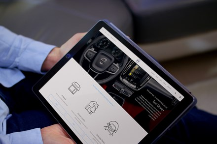 Volvo puts UK customers first with new Test Drive+ service