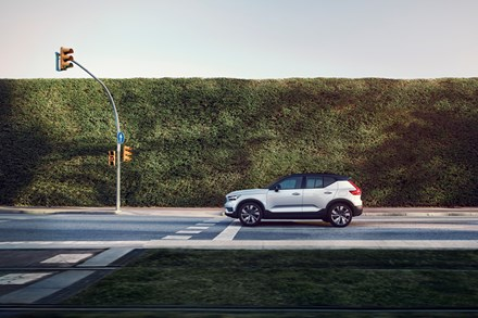 Volvo XC40 Recharge One Pedal Drive Animation