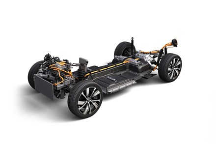 Volvo Cars inviger ny batterimontering i Ghent