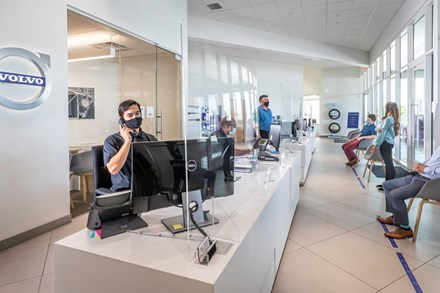 With COVID-19, Volvo safety now starts in the showroom